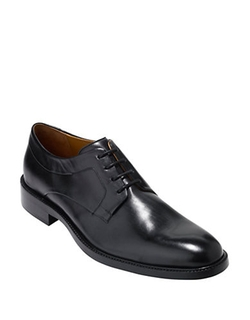 Cole Haan - Warren Plain Leather Oxford Shoes