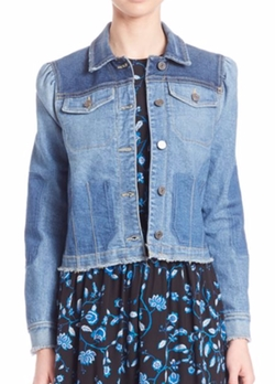 Rebecca Taylor - Patchwork Denim Jacket