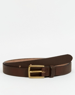 Asos - Leather Skinny Belt