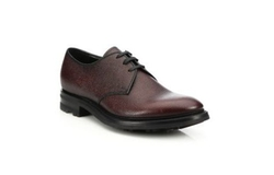 Prada - Pebbled Leather Oxford Shoes