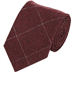 Luciano Barera - Windowpane-Plaid Necktie
