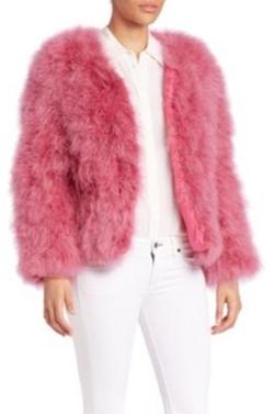 Pello Bello  - Fluffy Feather Jacket