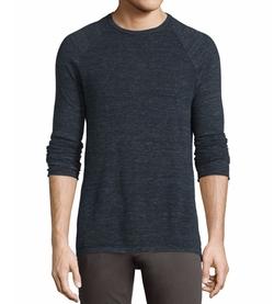 Vince - Jaspe Sporty Pique Raglan-Sleeve Sweater