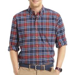 Izod  - Long Sleeve Tartan Plaid Shirt