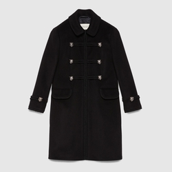 Gucci - Wool Toggle Coat