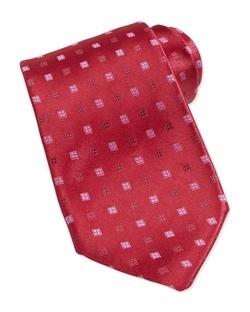 Charvet  - Neat Square Silk Tie