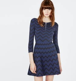 Maje - Romy Jacquard Knit Dress
