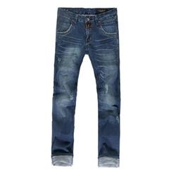 Chartou - Denim Straight Legs Pants