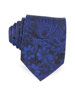 Forzieri - Ornamental Woven Silk Tie