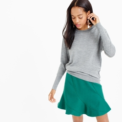 J. Crew  - Relaxed Merino Wool Pullover Sweater