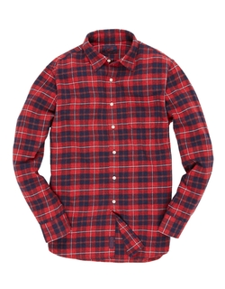 Grayers - Textured Twill Gingham Check Sportshirt