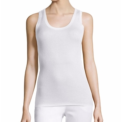 Magaschoni - Ribbed Silk-Cashmere Tank Top
