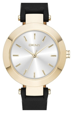 DKNY - Stanhope Leather Strap Watch
