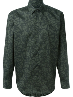 Marc Jacobs   - Leaf Print Shirt