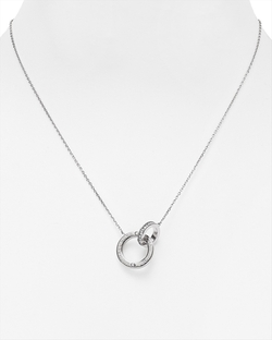 Michael Kors - Logo Ring Pendant Necklace