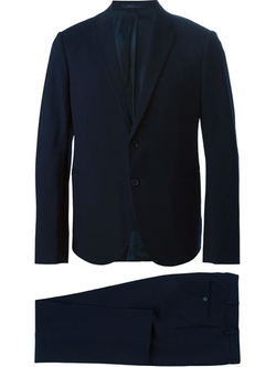 Michael Kors  - Trim Fit Solid Wool Suit
