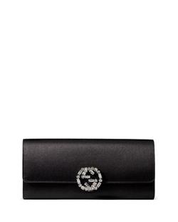 Gucci - Broadway Satin Evening Clutch Bag