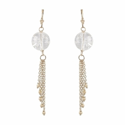 Karen Ko - Quartz Tassel Earrings