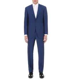 Canali - Wool And Mohair-Blend Suit