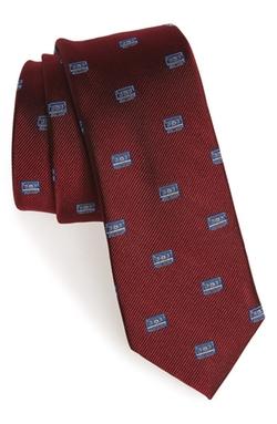 1901 - Cassette Print Silk Tie