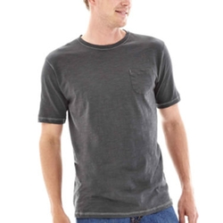 Michael Brandon - Short-Sleeve Slubbed Pocket Tee
