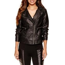 Worthington - Faux-Leather Jacket