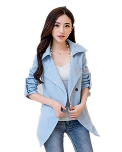 Xinchen - Long Trench Coat