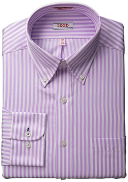 Izod - Slim-Fit Striped Shirt