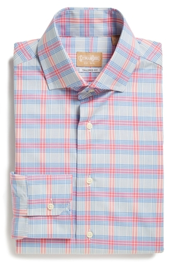 Gitman - Tailored Fit Plaid Dress Shirt