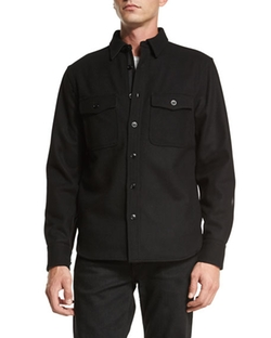 Rag & Bone - Button-Down Shirt Jacket