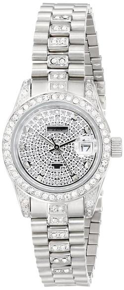 Akribos XXIV - Diamond Quartz Bracelet Watch