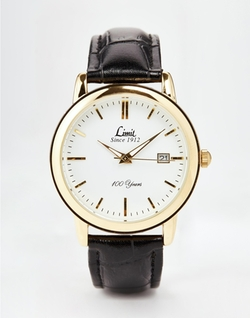 Limit - Black Strap Watch