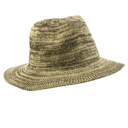 SK Hat shop - Marled Knit Fedora Hat