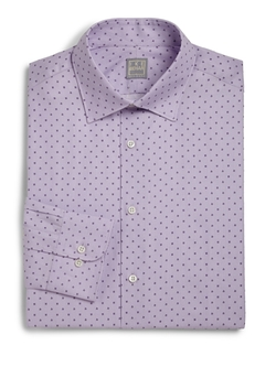 Ike Behar - Regular-Fit Lion Textured Dress Shirt