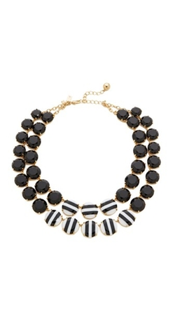 Kate Spade New York - The Right Stripe Statement Necklace
