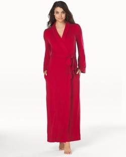 Cool Nights  - Long Robe Ruby