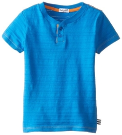 Splendid - Boys Textured Solid Henley Top