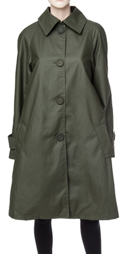 Leon Max - Coated Cotton Raincoat