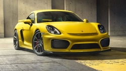 Porsche - Cayman GT4 Car