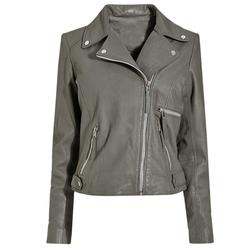 Wish-Ido Women Coats - Faux Leather Jacket