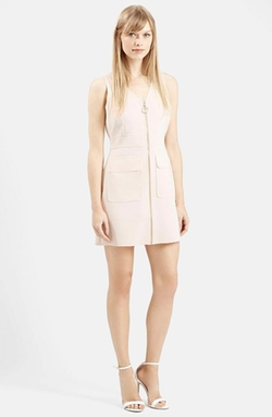 Topshop  - Zip Front Utility Dress
