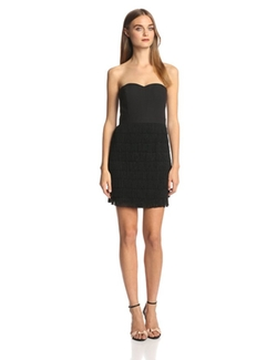 Aidan Mattox - Strapless Short Dress