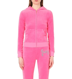 Juicy Couture - Delmar Velour Hoody Jacket