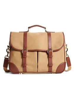 Brooks Brothers - Canvas Messenger Bag