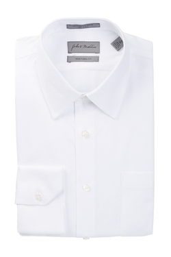 John W. Nordstrom  - Traditional Fit Stripe Dress Shirt