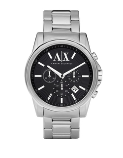 Armani Exchange - Stainless Steel Chronograph Watch