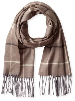 V. Fraas - Window Pane Plaid Scarf