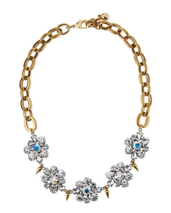 Lulu Frost - Lana Crystal Flower Necklace