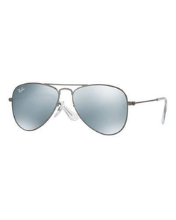 Ray-Ban - Mirrored Aviator Sunglasses