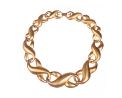 Givenchy  - Figure Eight Eternity Love Knot Necklace